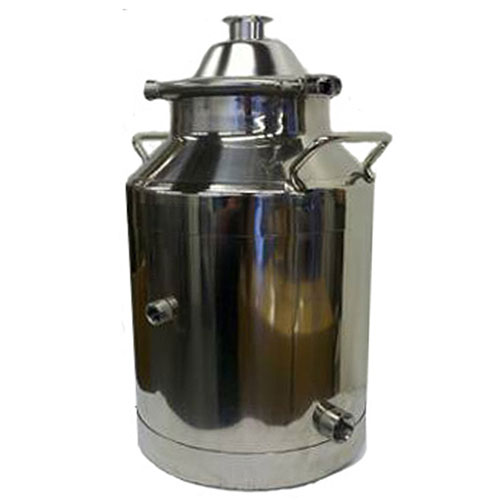 8 Gallon Heavy Duty Milk Can with 2 Inch Dome