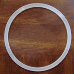 Silicone gasket for milk can lids