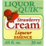 Strawberry Cream Essence - Liquor Quik (20ml)