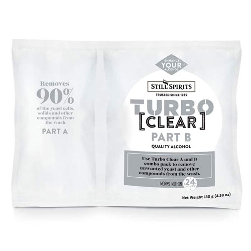 turbo clear 2-stage clearing agent for distilling