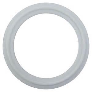 2 inch Diameter White PTFE (Teflon™) Gasket