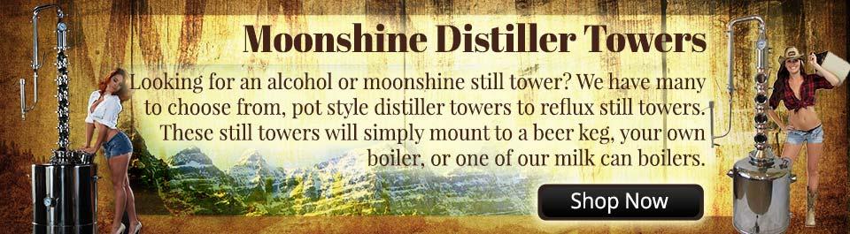 Category Banner Distiller Tower