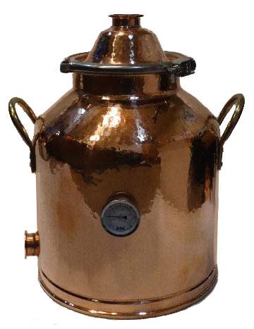 8 Gallon Copper Milk Can Boiler