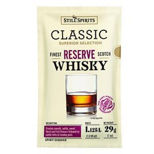 Scotch Whiskey Sachet