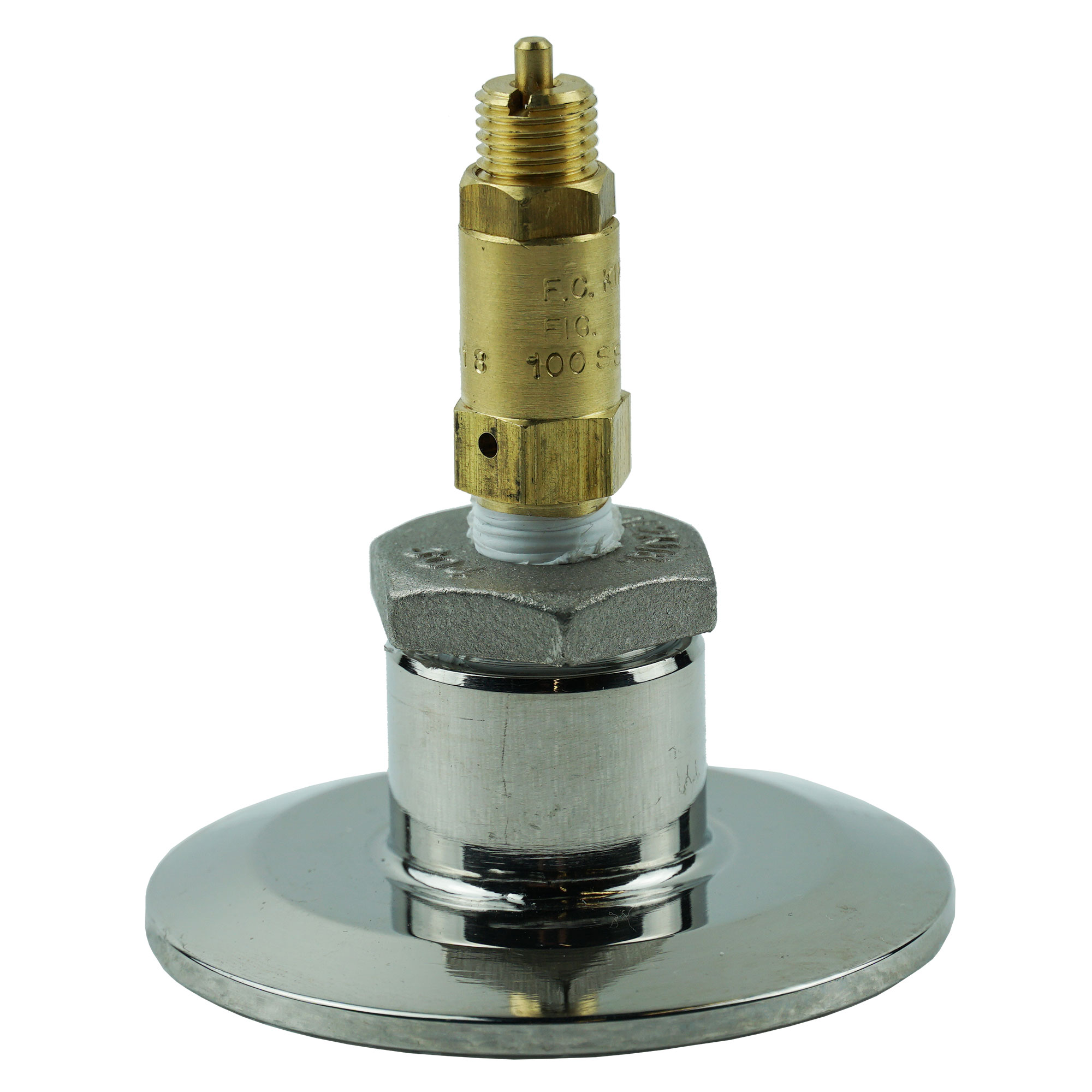 """5 PSI safety valve with 2"""" x 1/2"""" Adapter"""
