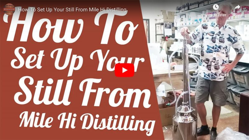 How To Set Up Your Still